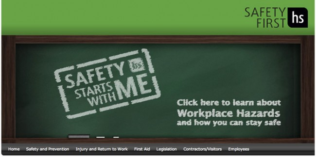 Safety First Website
