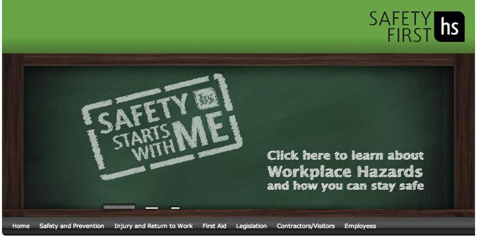 Safety First Website